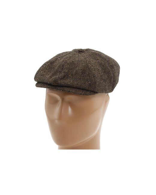Brixton | Brown Brood Snap Cap for Men | Lyst