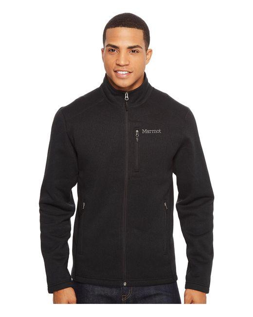 Marmot | Black Drop Line Jacket for Men | Lyst