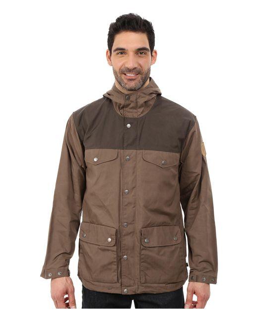 Fjallraven   Brown Greenland Jacket for Men   Lyst
