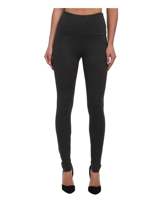 Lyssé | Gray Ponte Legging W/ Center Seam 1519 | Lyst
