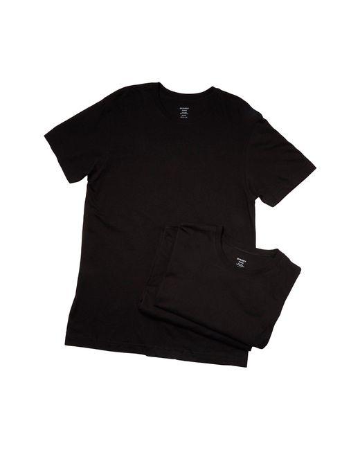 2xist | Black 3-pack Essential Crew Neck T-shirt for Men | Lyst