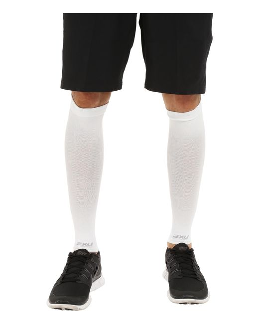 2xu | White Performance Run Sleeve for Men | Lyst