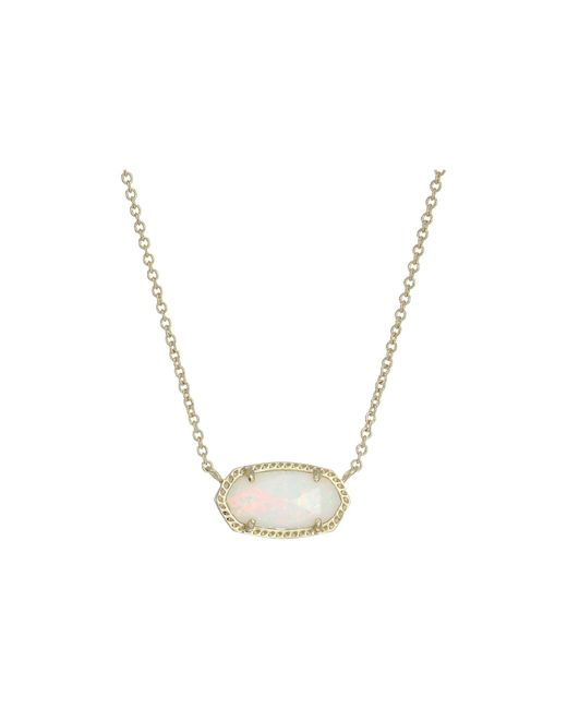 Kendra Scott | Multicolor Elisa Pendant Necklace | Lyst