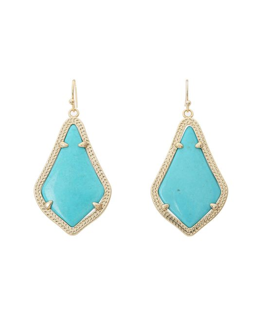 Kendra Scott | Blue Alex Earring | Lyst