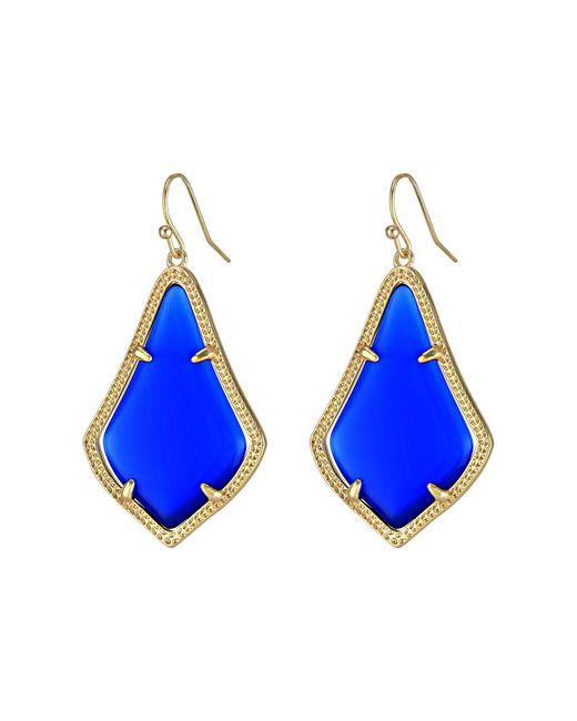 Kendra Scott | Blue Alex Earring | Lyst