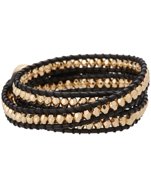 House of Harlow 1960 | Metallic Karma Wrap Bracelet | Lyst