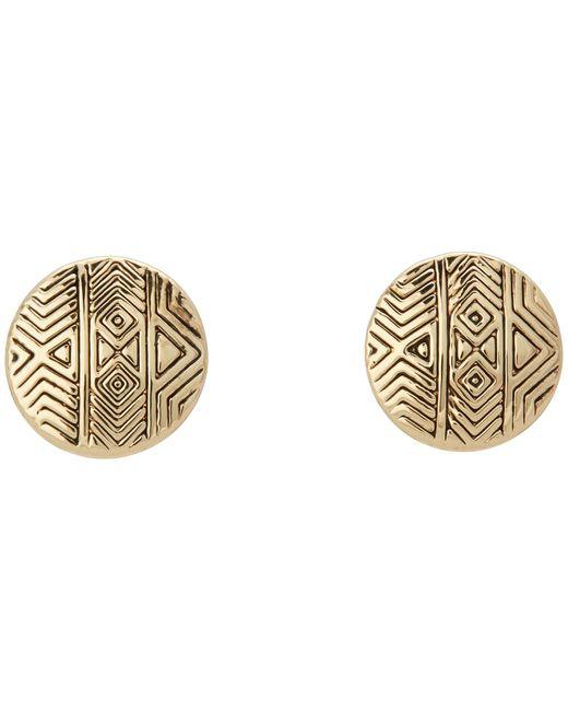 House of Harlow 1960 | Metallic Tholos Mosaic Stud Earrings | Lyst