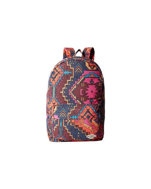 Billabong | Red Hand Over Love Backpack | Lyst