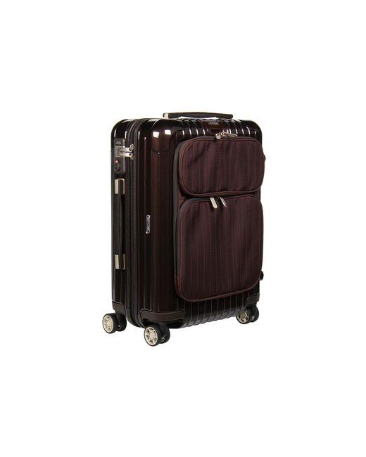"Rimowa - Brown Salsa Deluxe Hybrid - 21"" Cabin Multiwheel® - Lyst"