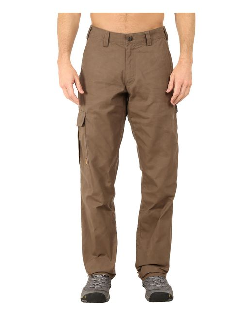 Fjallraven | Brown Ovik Trousers for Men | Lyst
