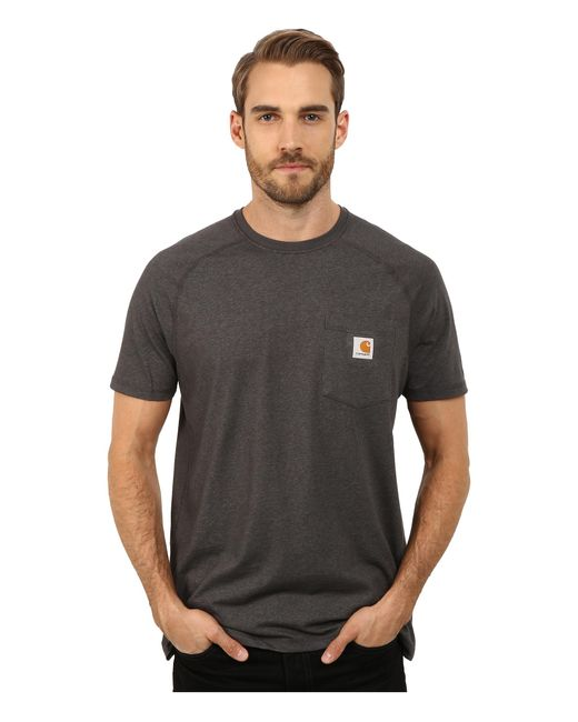 Carhartt | Black Force® Cotton Delmont Short-sleeve T-shirt for Men | Lyst