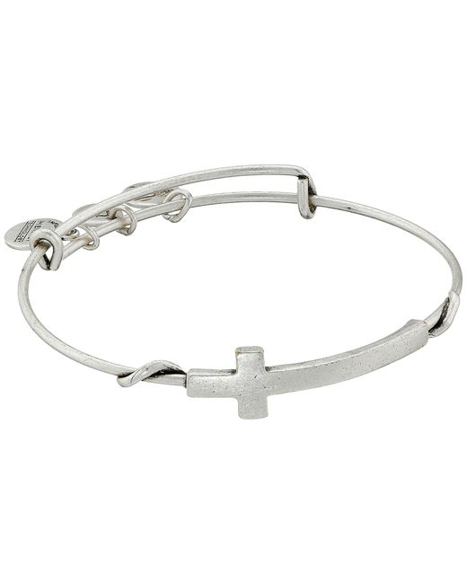 ALEX AND ANI | Metallic Cross Wrap | Lyst