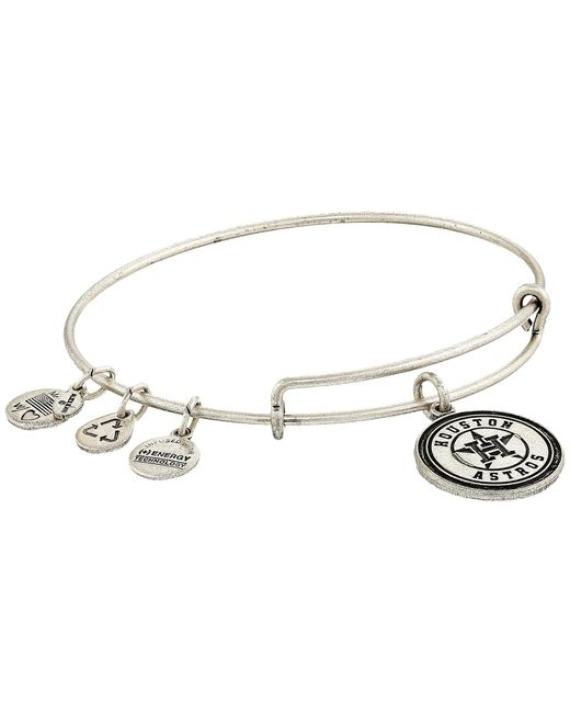ALEX AND ANI | Metallic Mlb® Houston Astros Charm Bangle | Lyst