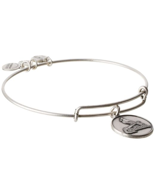 ALEX AND ANI | Metallic Mlb® St. Louis Cardinalstm Charm Bangle | Lyst