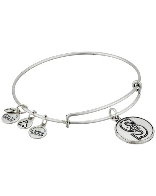 ALEX AND ANI | Metallic Mlb® Seattle Mariners Charm Bangle | Lyst