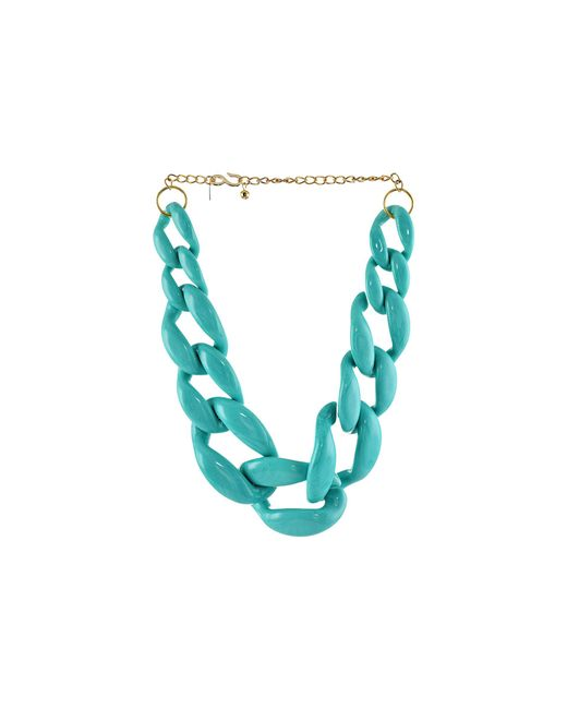 Kenneth Jay Lane | Blue The Housewives Go To Necklace | Lyst