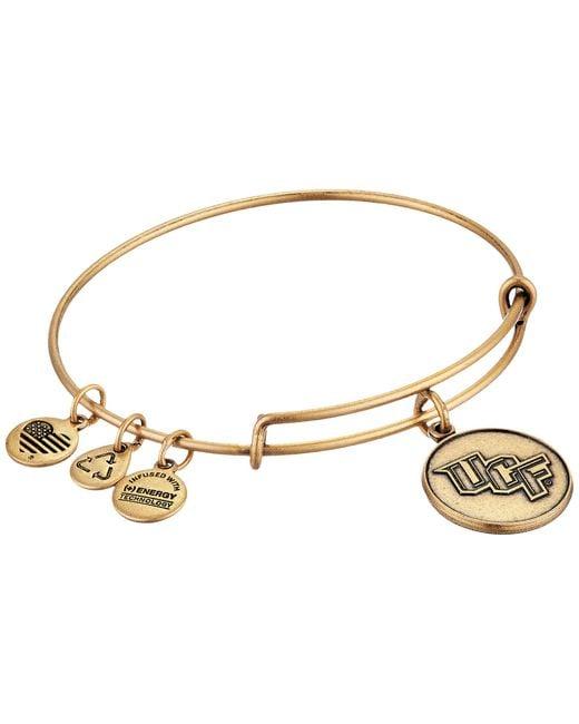 ALEX AND ANI | Metallic University Of Central Florida® Logo Charm Bangle | Lyst