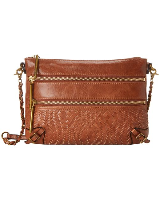 Elliott Lucca | Brown Bali '89 3 Zip Clutch | Lyst