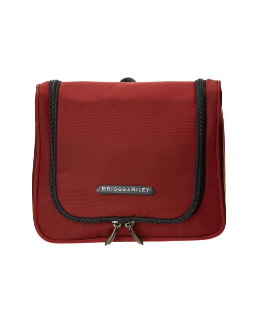 Briggs & Riley | Red Transcend Hanging Toiletry Kit | Lyst
