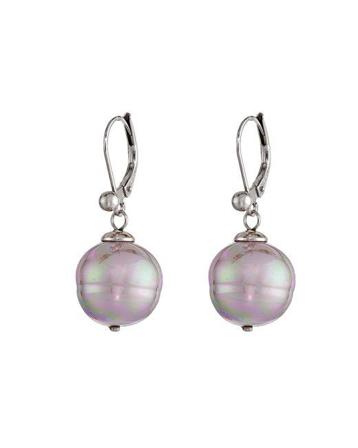 Majorica | Purple 12mm Baroque Pearl Drop Earrings | Lyst