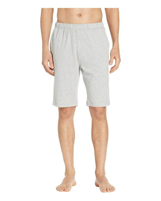 Tommy Bahama Gray Cotton Modal Knit Jersey Shorts for men