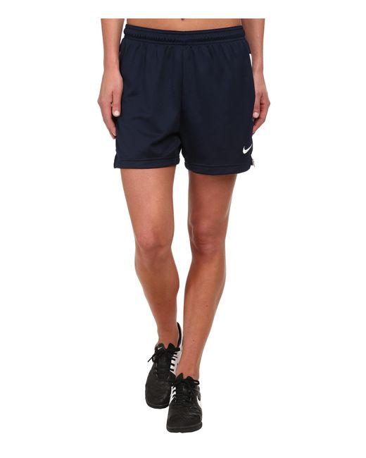 Nike | Blue Dri-fittm Academy Knit Shorts | Lyst