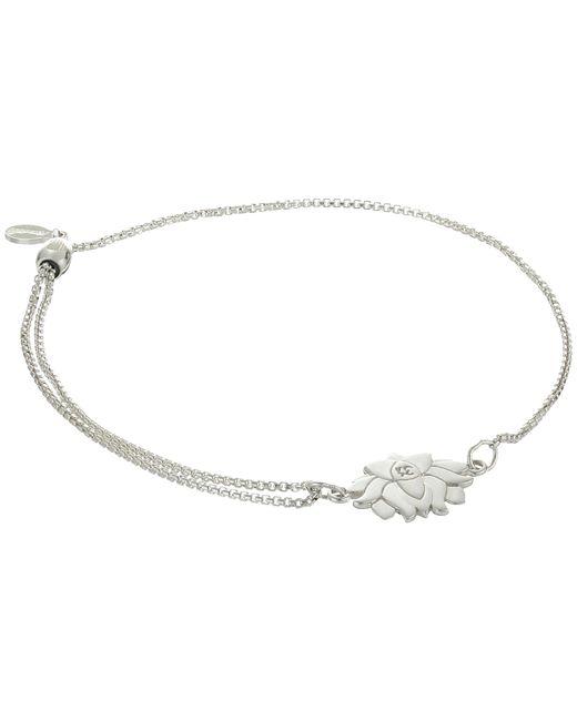 ALEX AND ANI | Metallic Precious Ii Collection Lotus Peace Petals Adjustable Bracelet | Lyst