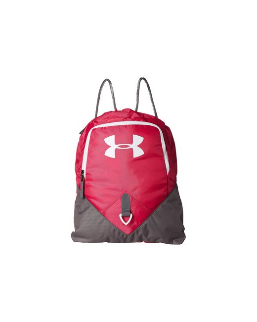 Under Armour   Red Ua Undeniable Sackpack   Lyst