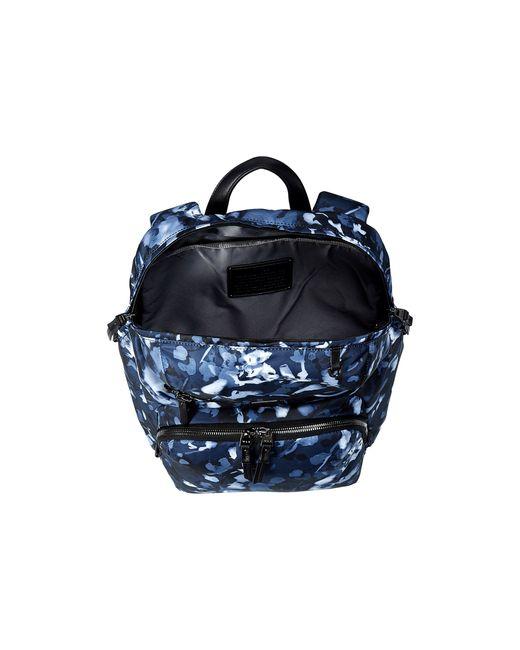 Tumi Voyageur Indigo Floral Halle Backpack In Blue Indigo