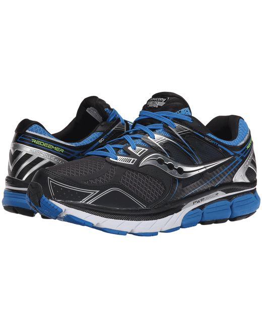 Saucony | Redeemer Iso Men W Round Toe Synthetic Black Tennis Shoe for Men | Lyst