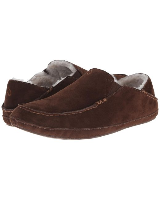 Olukai | Brown Moloa Slipper for Men | Lyst
