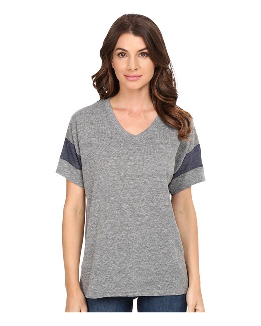 Alternative Apparel | Gray Powder Puff Tee | Lyst