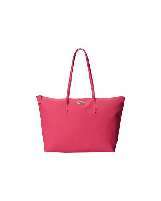 Lacoste | Pink L.12.12 Concept Large Shopping Bag | Lyst