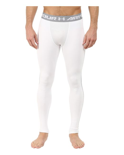 Under Armour | White Ua Coldgear® Armour® Compression Legging for Men | Lyst