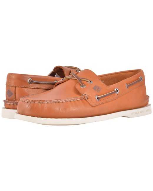Sperry Top-Sider | Natural A/o 2-eye Cross Lace for Men | Lyst
