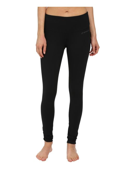 Brooks | Black Greenlight Tights | Lyst