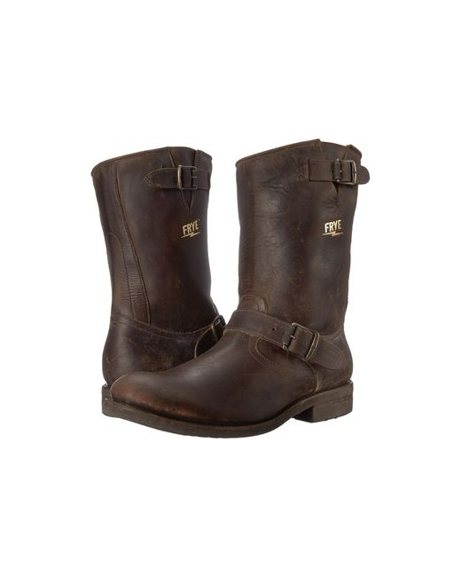 Frye | Brown Stone Engineer for Men | Lyst