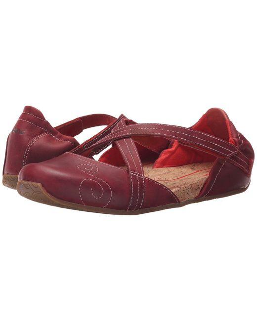 Ahnu | Red Karma Latitude Leather | Lyst