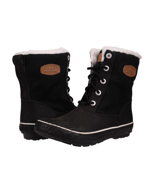 Keen | Black Elsa Boot Wp | Lyst