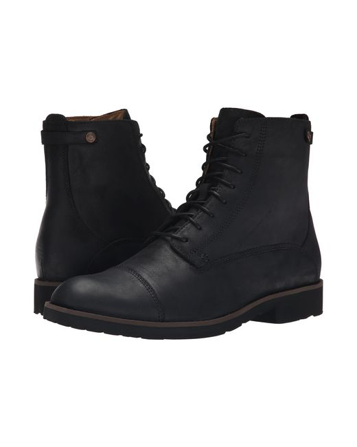 Sebago | Black Rutland Lace Up Boot for Men | Lyst
