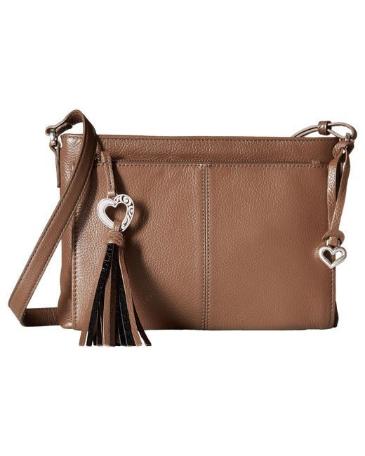 Brighton | Brown Banks Crossbody Organizer Bag | Lyst