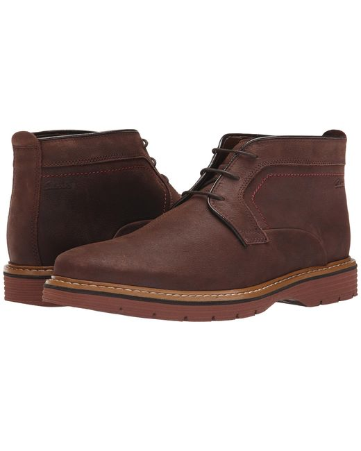 Clarks | Brown Newkirk Top for Men | Lyst