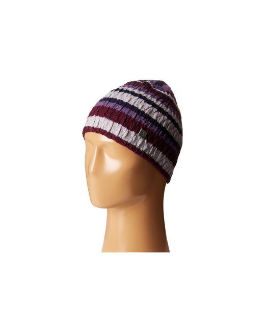 Smartwool   Purple Striped Chevron Hat   Lyst