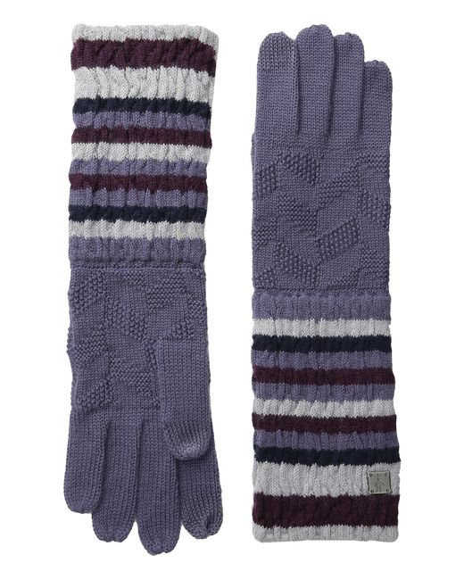 Smartwool | Natural Striped Chevron Glove | Lyst