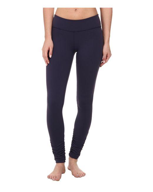 Beyond Yoga | Blue Gathered Long Leggings | Lyst