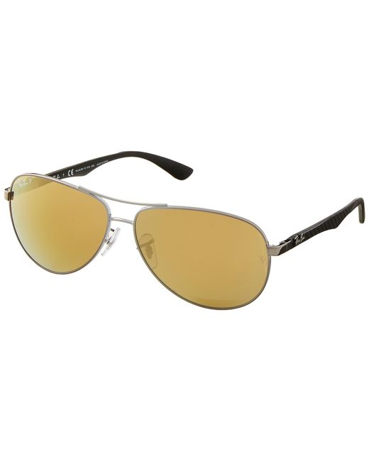 Ray-Ban | Metallic Rb8313 61mm | Lyst