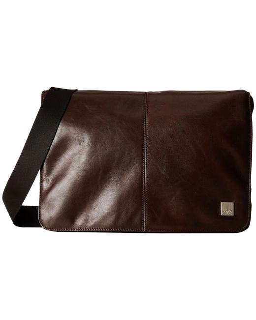 Knomo | Brown Kinsale Small Messenger Laptop Bag for Men | Lyst