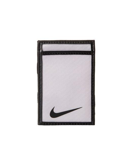 Nike | Black Tech Essential Magic Wallet for Men | Lyst