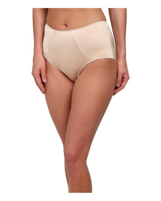 Hanro | Natural Satin Deluxe Full Brief | Lyst