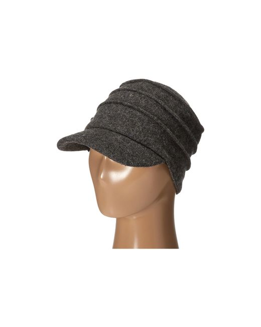 San Diego Hat Company   Gray Sdh0518 Wool Cadet With Right Side Flower   Lyst